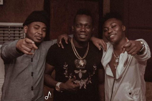 """SO LOVELY!! Watch Video How Reekado Banks & Duncan Mighty Cooked Up """"Bio Bio"""" In The Studio"""