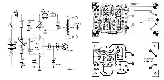 Electric Fence Schematic Build A Electric Fence Wiring Diagrams