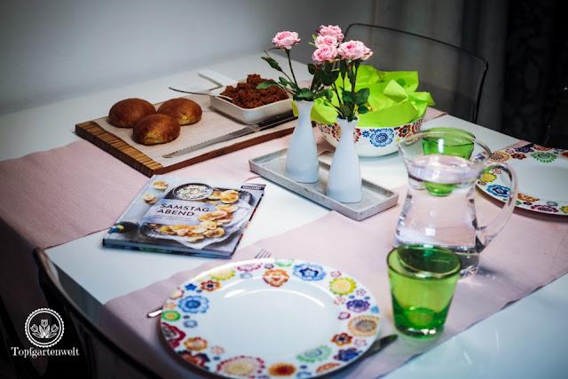 schnelles schmackhaftes Abendessen Rezept Sloppy Joes - Foodblog Topfgartenwelt