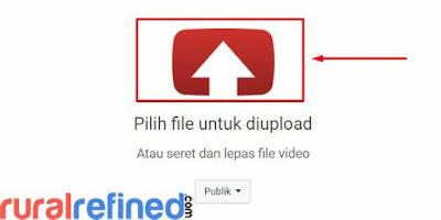 bagaimana cara upload video ke youtube