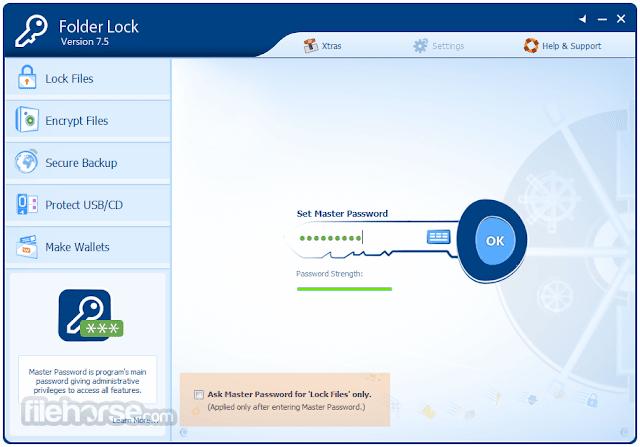 تحميل برنامج تأمين الملفات برقم سري فولدر لوك - Folder Lock 2020 - موقع حملها