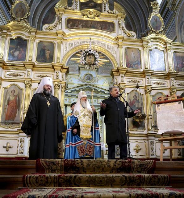 Порошенко у Луцьку: Не ходіть до церкви. де моляться за Кирила