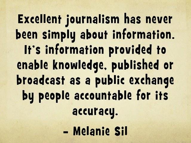 Was Journalismus kann und muss.
