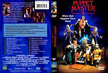 Carátula dvd: Puppet Master  IV (4) (1993) (La venganza de los muñecos 3)