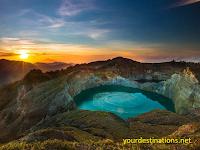 LAKE KALIMUTU, Flores Island Indonesia