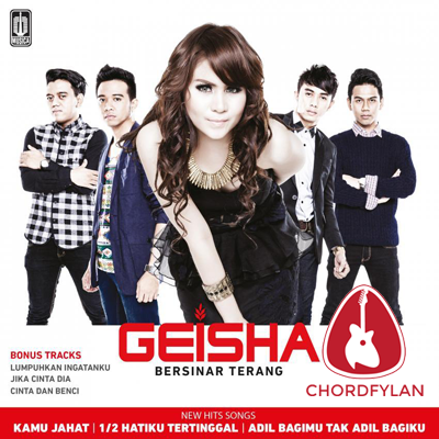 Lirik dan chord Salah - Geisha