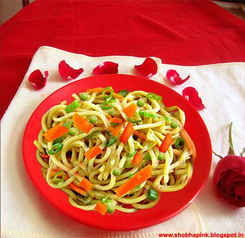 Valentine Day Noodles