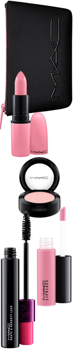 Beauty Exclusives M·A·C 'Look in a Box Fun and Flirty' Pink Lip & Eye Kit
