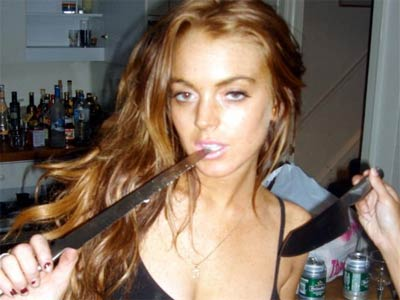 Lindsay Lohan becomes a reverse role model for girls