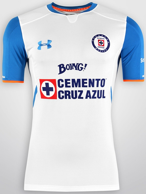 6b9fd02a5 Under Armour Cruz Azul 2015 16 Football Jerseys