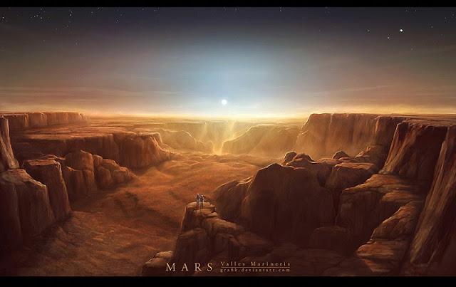 Satu tahun di Mars