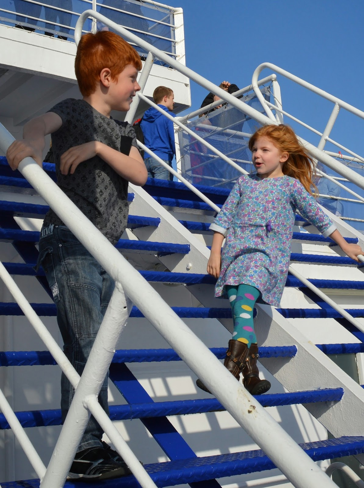 Children on deck