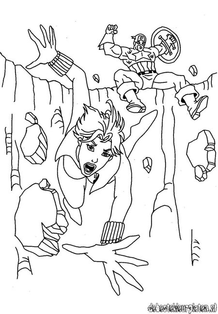 disney captain america coloring pages - photo#34