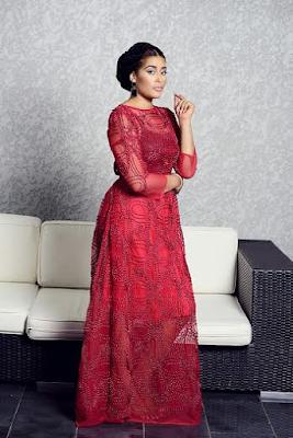 Adunni Ade stars in Abbyke Domina's 2016 wedding inspiration collection