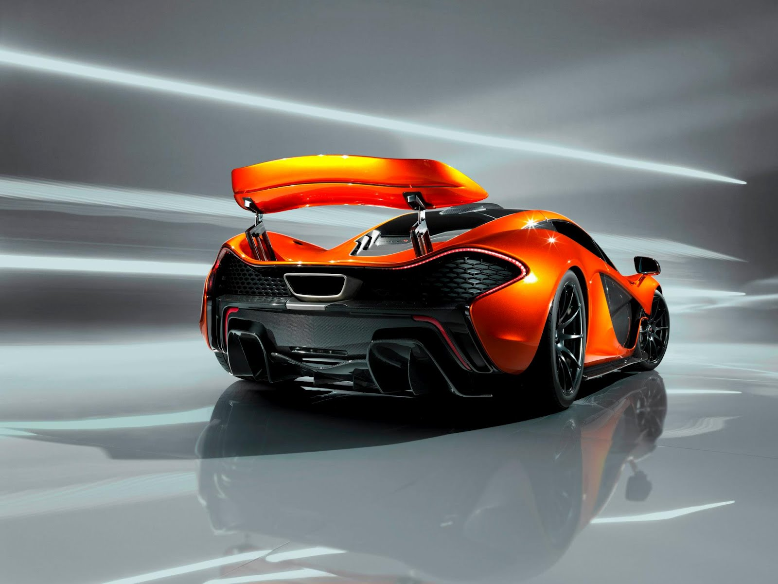 the mclaren p1 hybrid supercar unveiled @ paris motorshowron