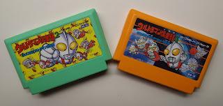 Ultraman Club 2 en 3 voor de Famicom