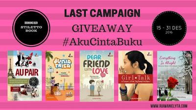 Last Campaign Giveaway #AkuCintaBuku