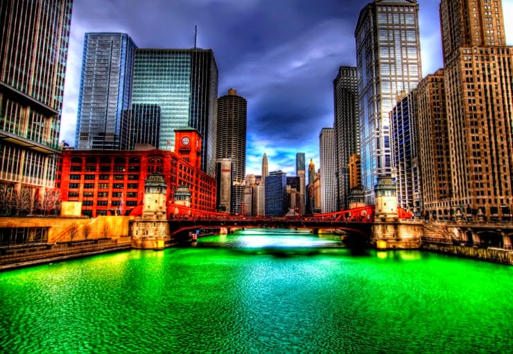 16. Saint Patrick's Day, Chicago, USA - 29 Colorful Festivals and Celebrations Around the World