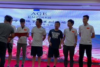 Chùm ảnh lễ bế mạc và trao giải AoE Thâm Quyến 2019