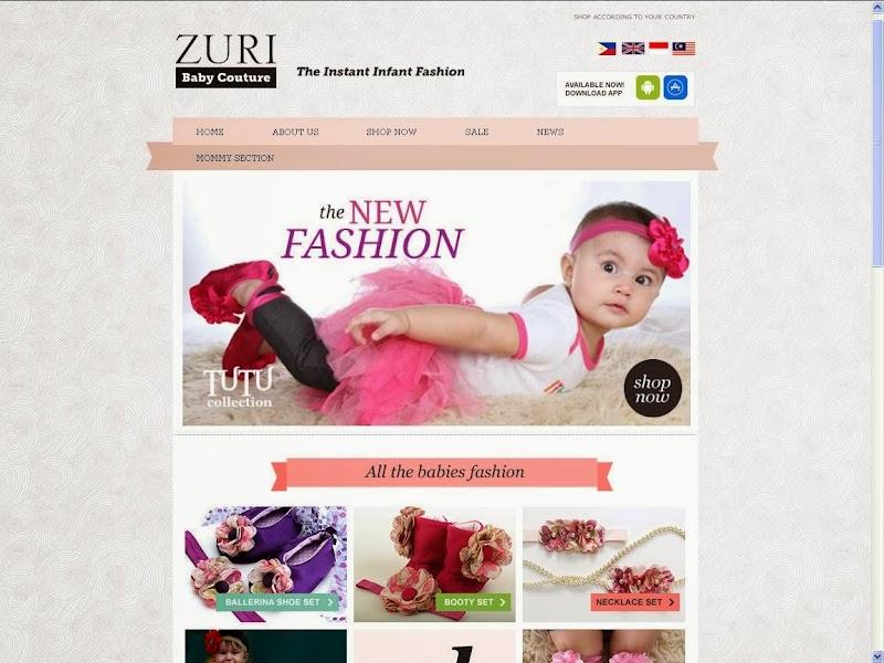 Featured Shop: Zuri Baby Couture
