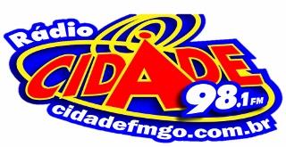 Rádio Cidade FM de Águas Lindas de Goiás ao vivo