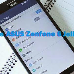 Cara Downgrade Asus Zenfone 6 ke Jellybean 4.3