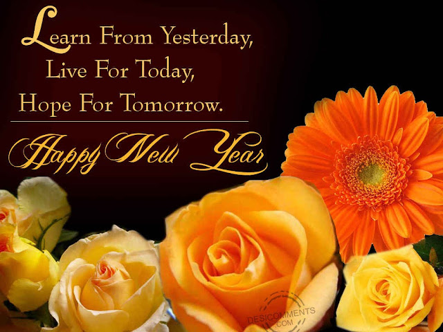 Happy New Year 2016 Flowers Images