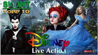 Topp 10 Disney filmer 2000 - 2015