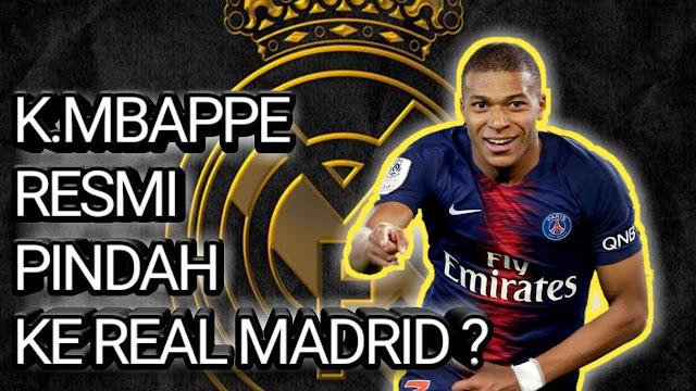 Saudara Beri Sinyal Kuat Mbappe Gabung Ke Real Madrid