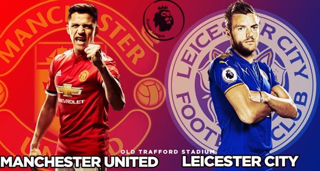 موعد  مباراة مانشستر يونايتد وليستر سيتي اليوم 10/8 في الدوري الإنجليزي والقنوات الناقلة للمباراة  مانشستر يونايتيد وليستر سيتي مجاناً