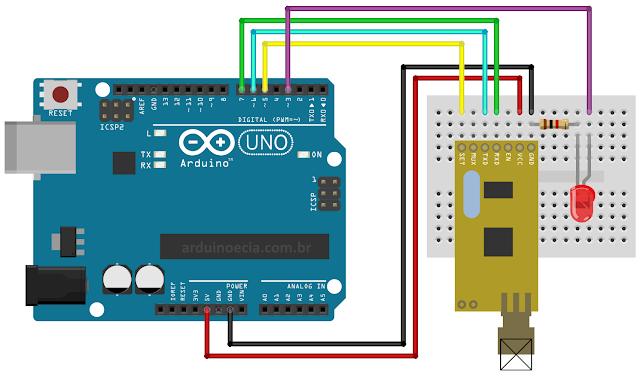 APC220 com Arduino - Recepção