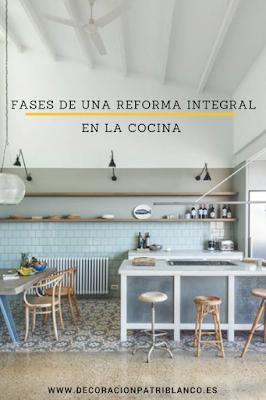 cómo hacer reforma integral de cocina