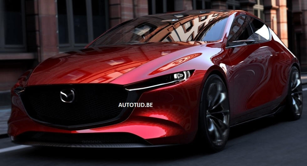 Say Hello To The Fabulously Minimalist Mazda Vision Coupe Concept