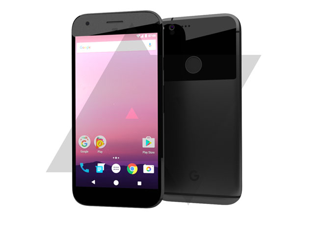 Here's how Google's new phones called Pixel will look like
