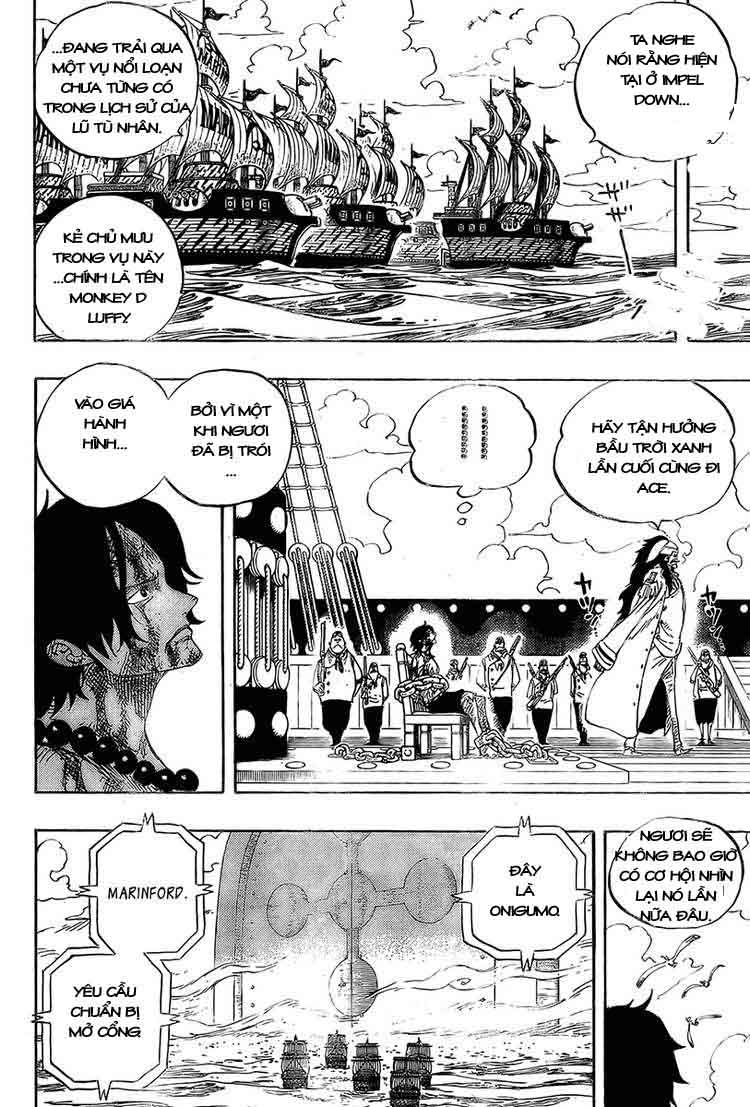 One Piece Chap 542
