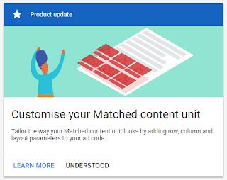 Tips dan cara Mendapatkan Iklan Matched Content