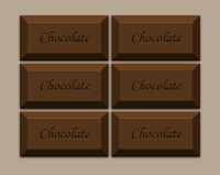Tạo Button Sôcôla (Chocolate) với css3