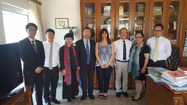 Κινέζικη Αντιπροσωπεία στην Αργολίδα για θέματα αρχαιολογικής και πολιτιστικής κληρονομιάς
