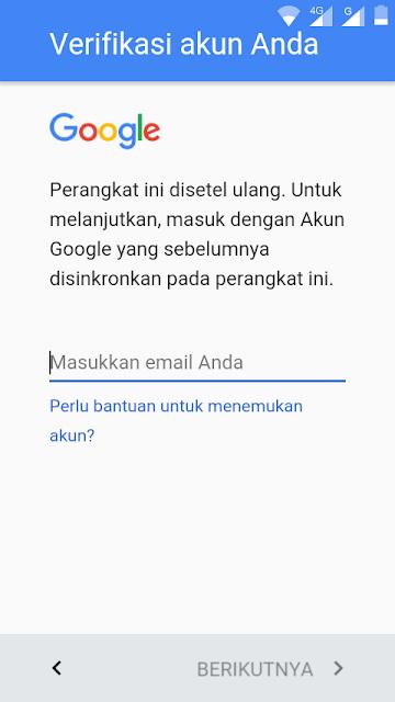 Cara Buka Andromax E2+ B16C2G Terkunci Account Gmail