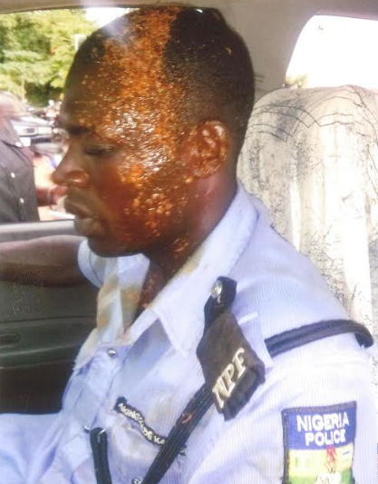 man throws soup police ado ekiti