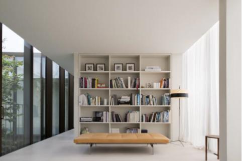 Elegante attico in stile minimal blog di arredamento e for Arredamento attico