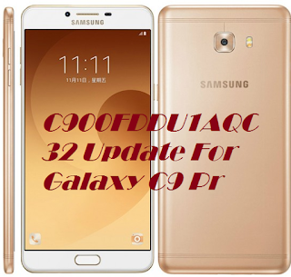 Samsung Released C900FDDU1AQC32 Update For Galaxy C9 Pro Brings Security Improvements