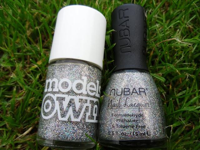 Nubar Star Sparkle Nail Polish Dupe
