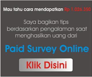 Cara Menghasilkan Uang Dari Survey Online