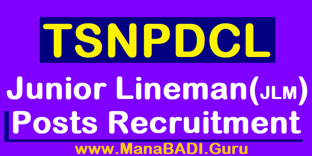 TS Jobs, TS Recruitment, TSNPDCL Recruitment, JUnior Lineman jobs, JLM Posts, TS NPDCL Jobs, Telangana State Northern Power Distribution Company of Telangana Limited