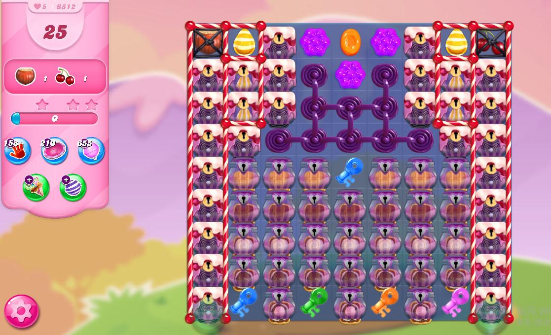 Candy Crush Saga level 6812
