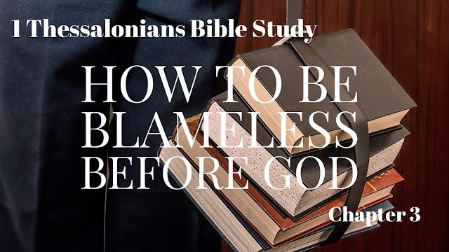 1 Thessalonians Bible Study Chapter 3