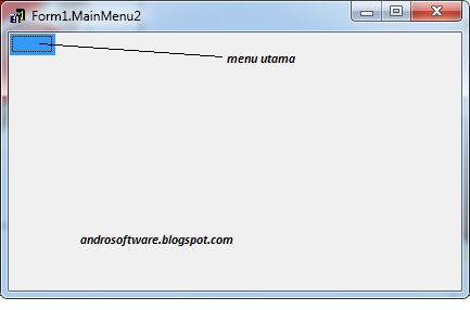 gambar menu designer delphi 7