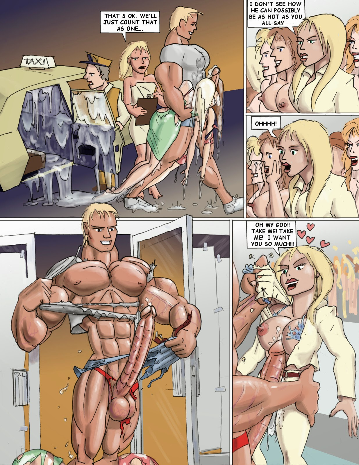 muscle growth comic