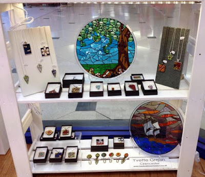 Baobab Tree Mosaics display at Arcade Artisans